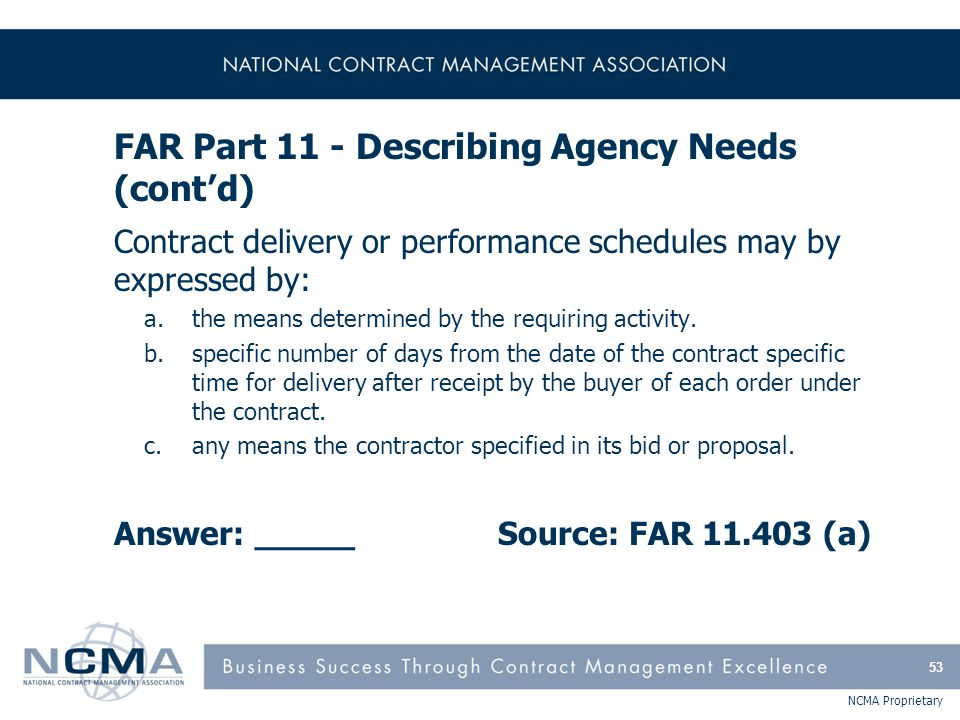 FAR Part 12 - Acquisition of Commercial Items