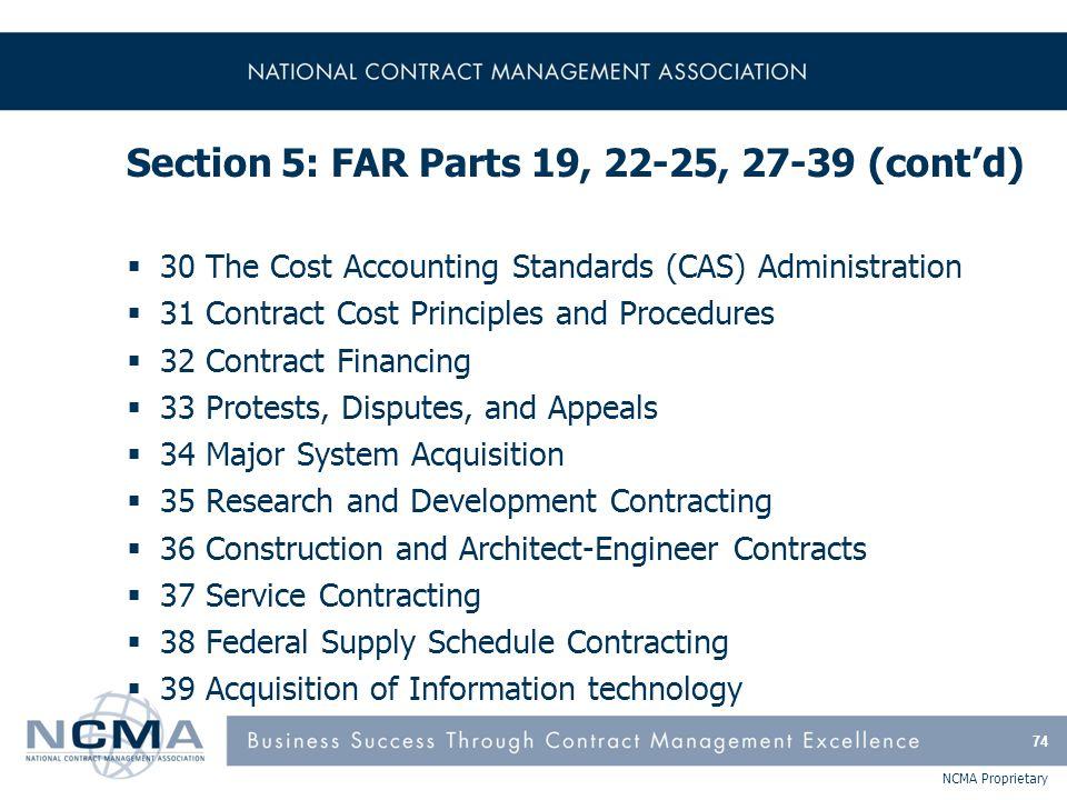 FAR Part 19 - Small Business Programs