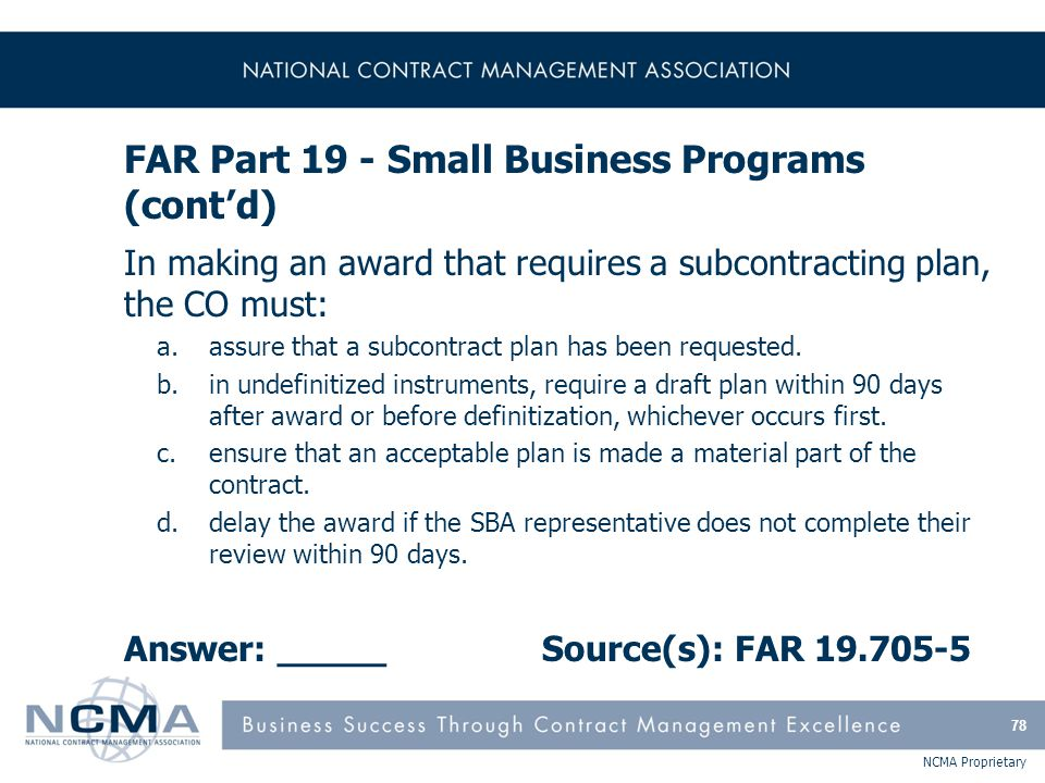 FAR Part 22 - Application of Labor Laws to Government Acquisitions