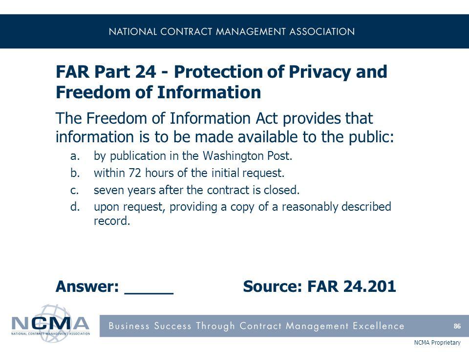 FAR Part 25 - Foreign Acquisition