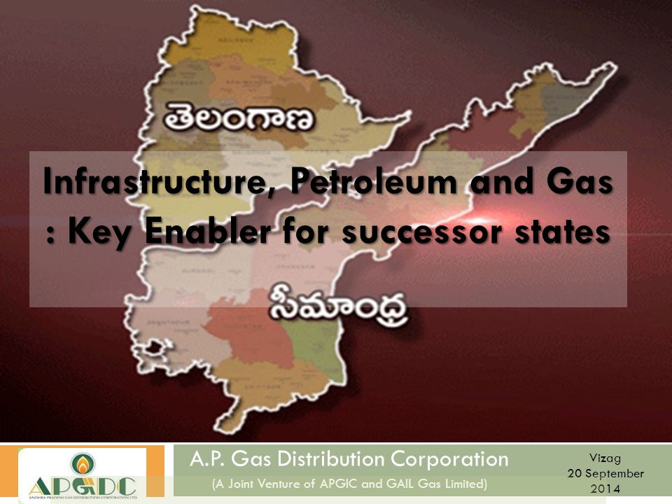 Infrastructure, Petroleum and Gas : Key Enabler for successor states