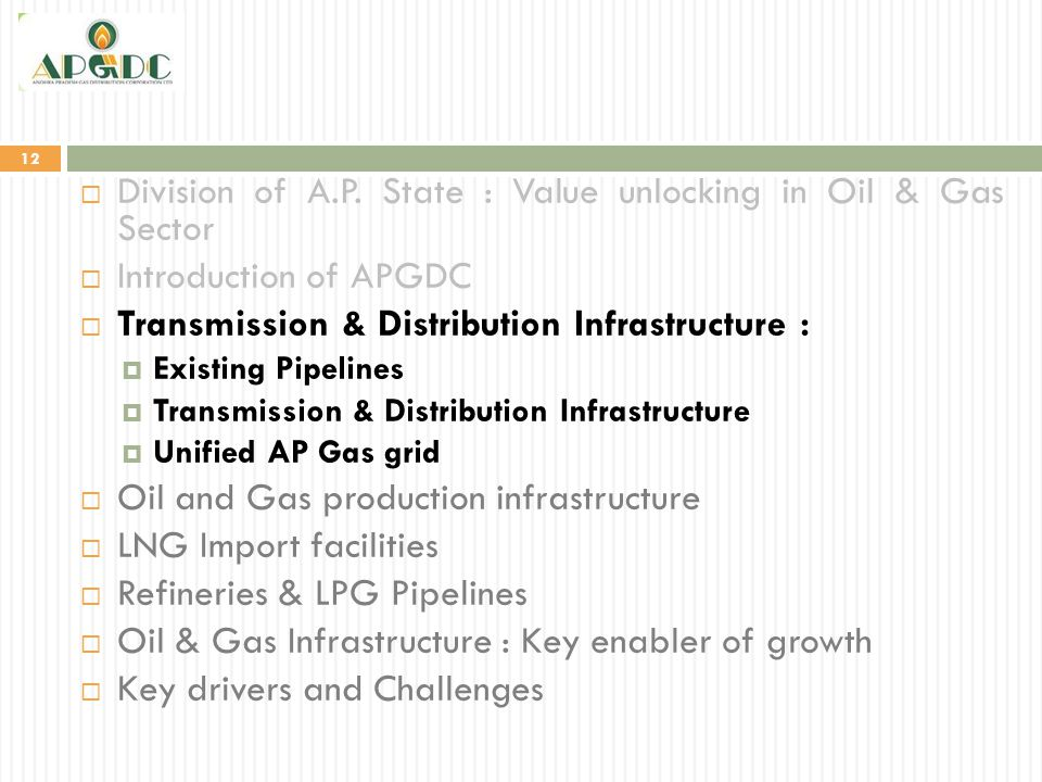 Division of A.P. State : Value unlocking in Oil & Gas Sector