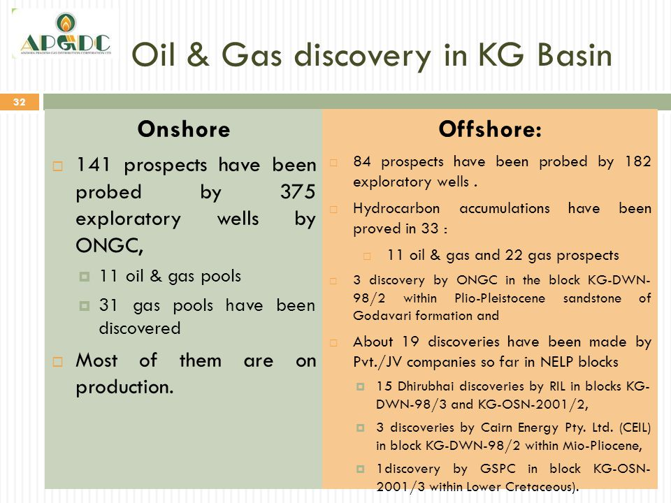 Oil & Gas discovery in KG Basin
