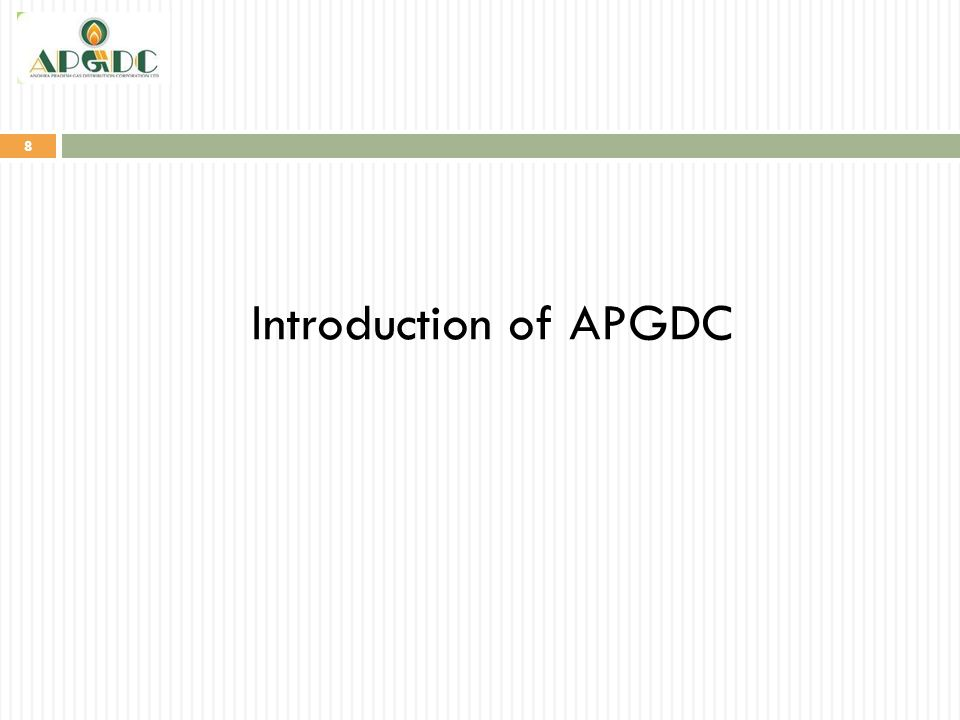 Introduction of APGDC