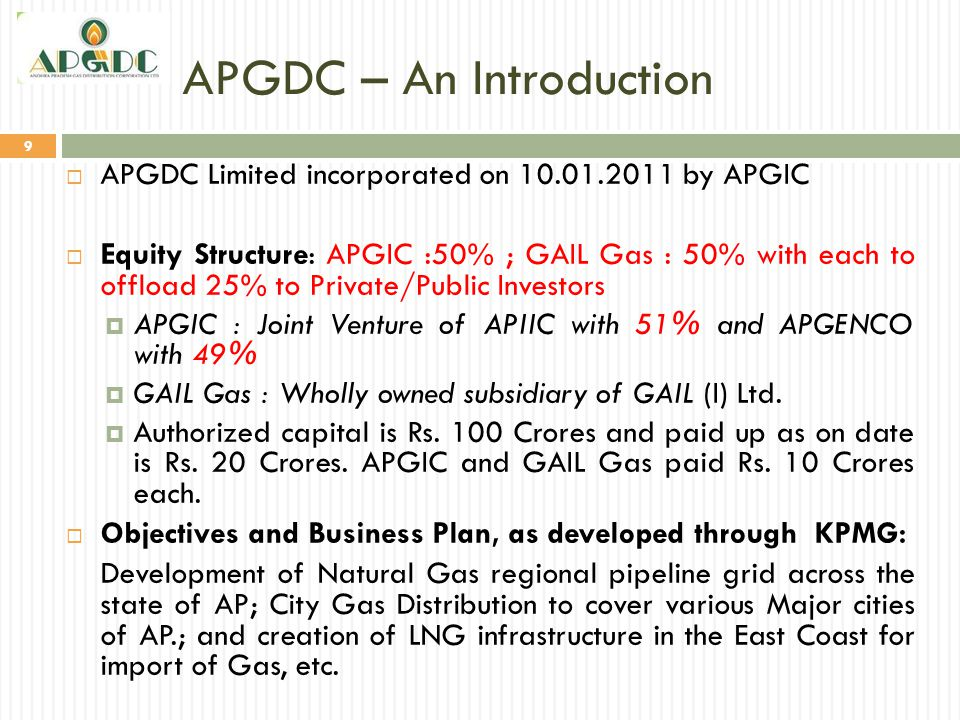 APGDC – An Introduction