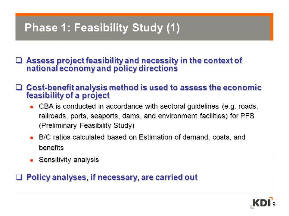 Phase 1: Feasibility Study (1)