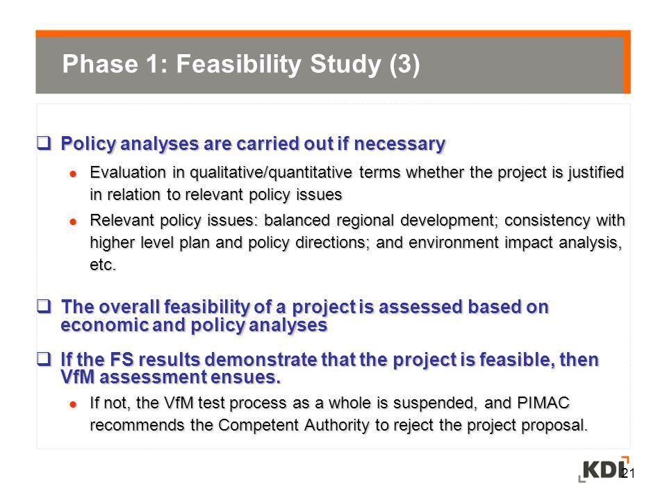 Phase 1: Feasibility Study (3)