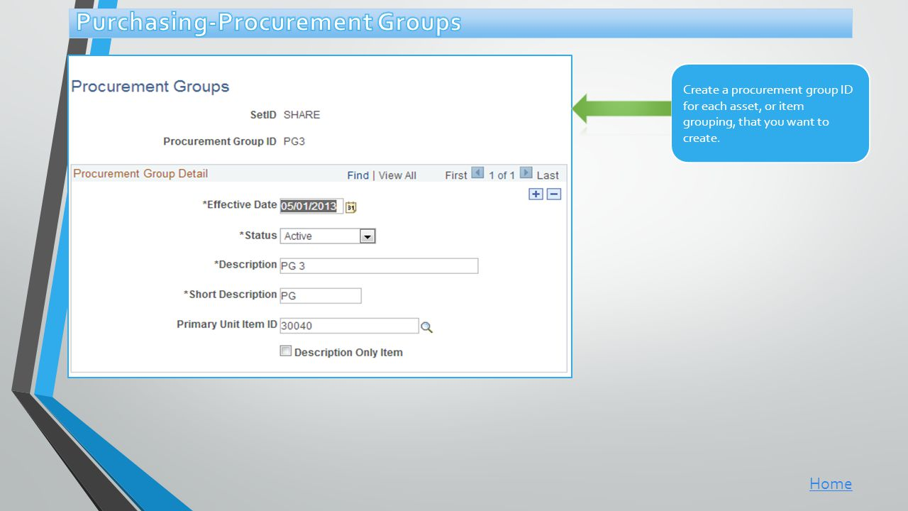 Purchasing-Procurement Groups