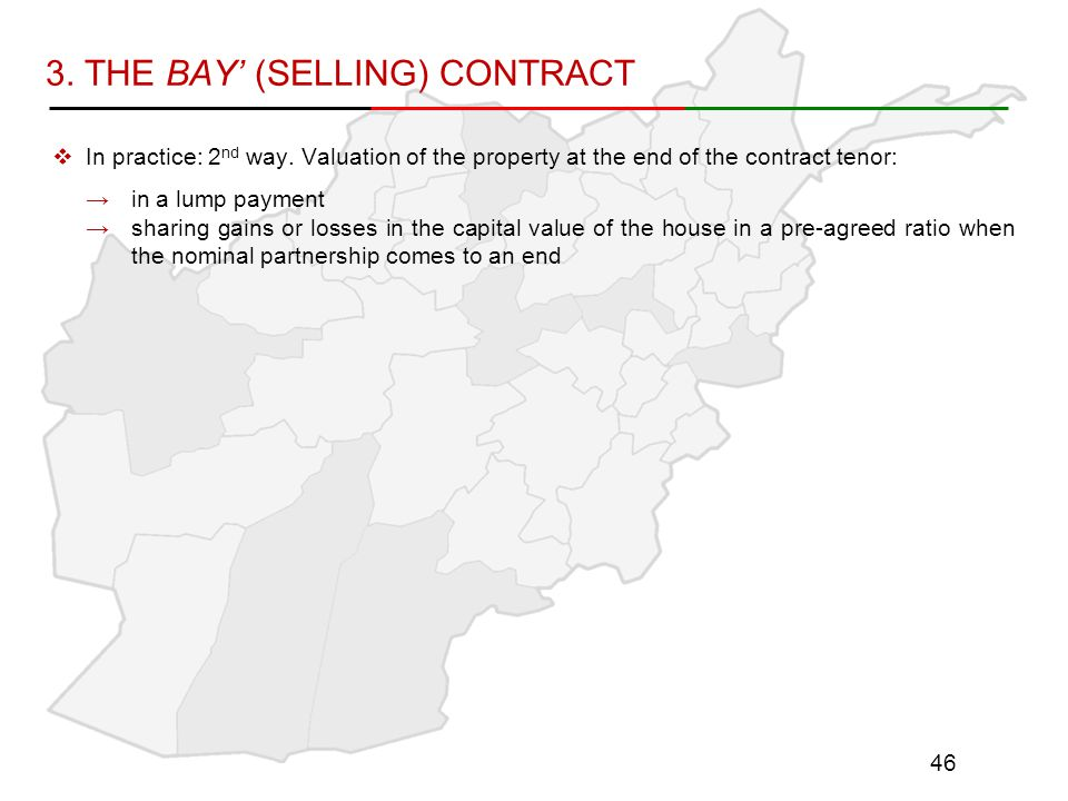 3. THE BAY' (SELLING) CONTRACT