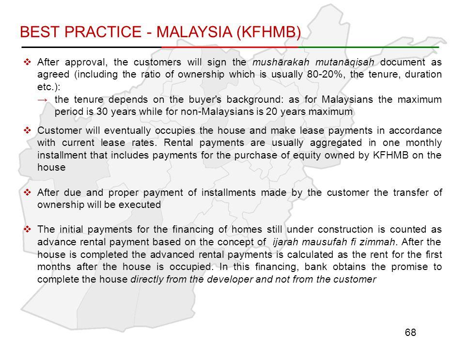 BEST PRACTICE - MALAYSIA (KFHMB)