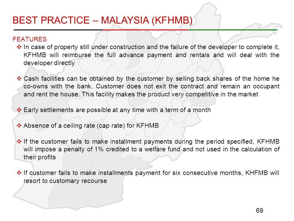 BEST PRACTICE – MALAYSIA (KFHMB)