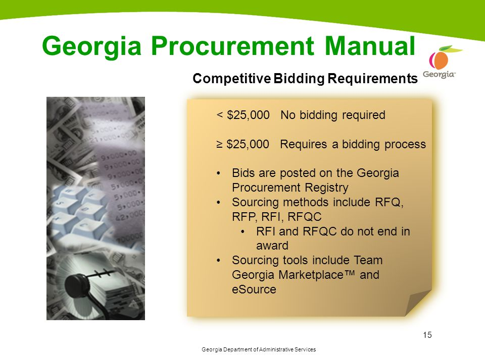 Georgia Procurement Manual