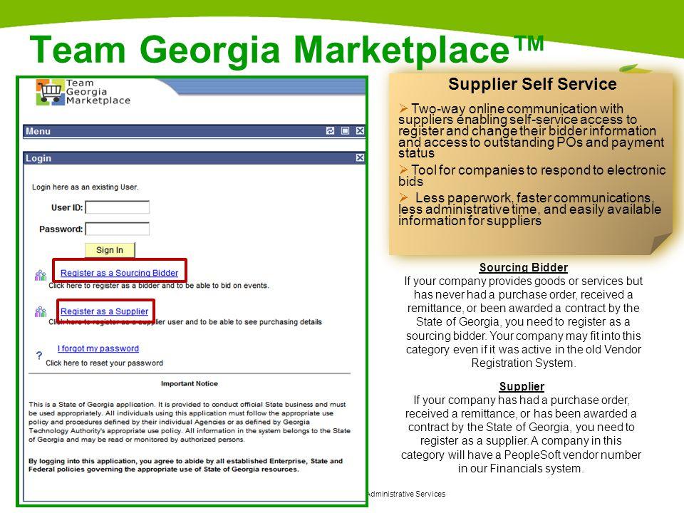 Team Georgia Marketplace™