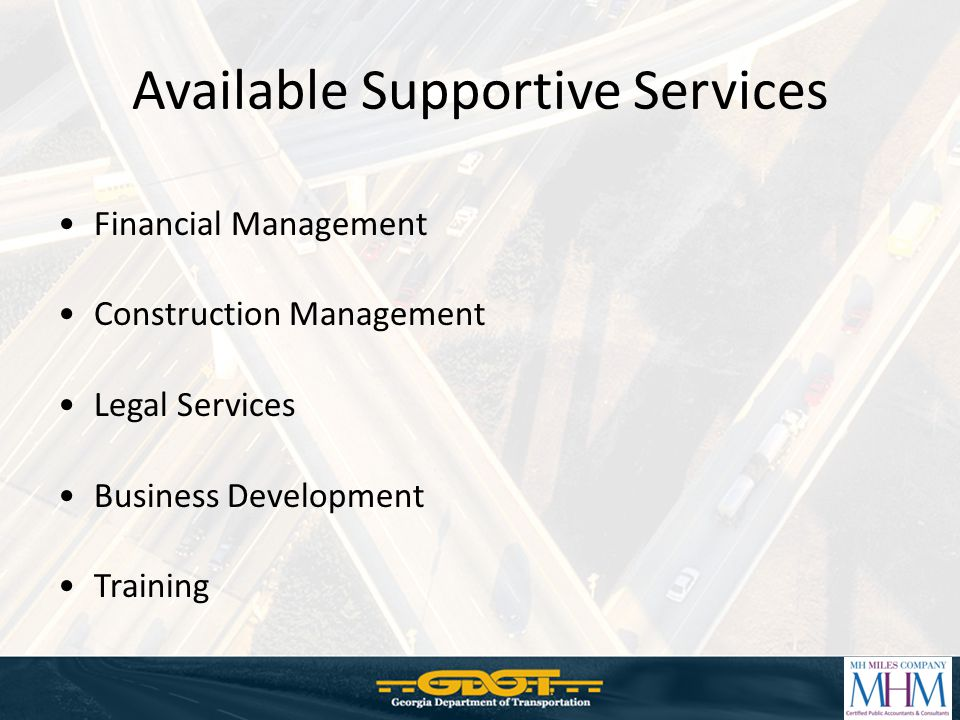 Available Supportive Services
