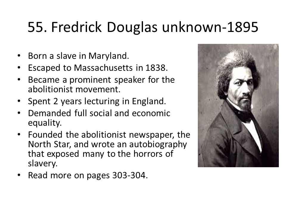 55. Fredrick Douglas unknown-1895