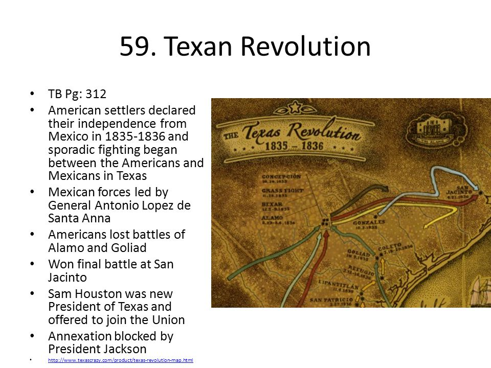59. Texan Revolution TB Pg: 312