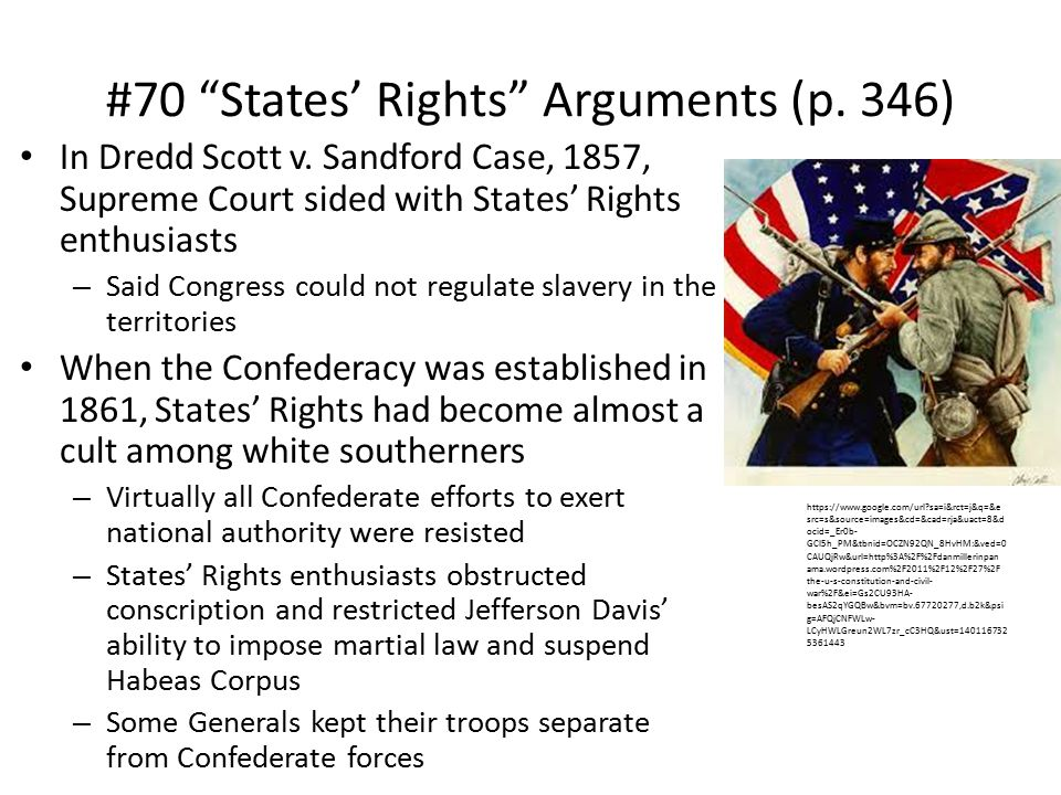 #70 States' Rights Arguments (p. 346)