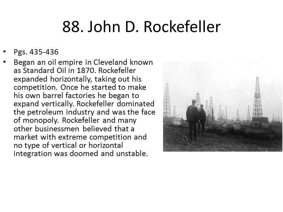 88. John D. Rockefeller Pgs. 435-436