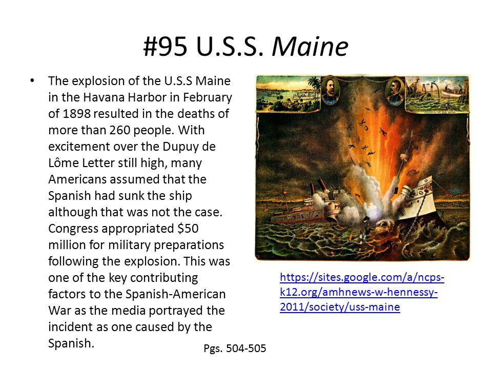 #95 U.S.S. Maine