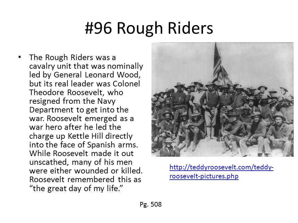 #96 Rough Riders