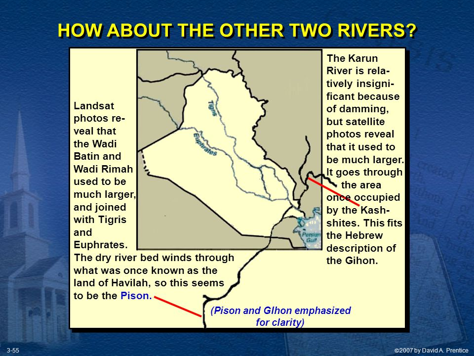 HOW ABOUT THE OTHER TWO RIVERS (Pison and GIhon emphasized