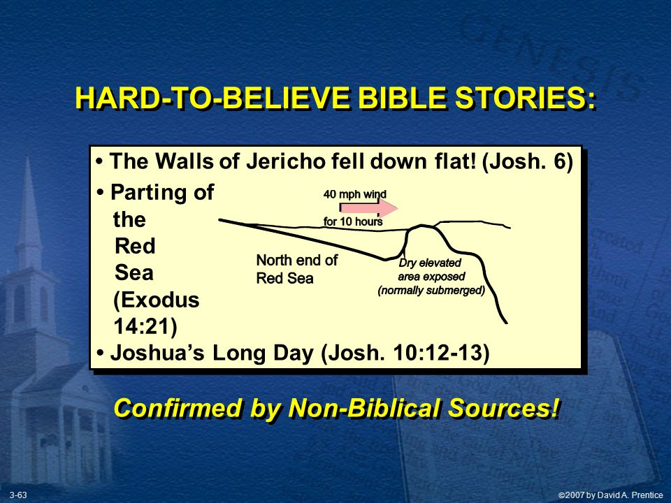 HARD-TO-BELIEVE BIBLE STORIES: Confirmed by Non-Biblical Sources!