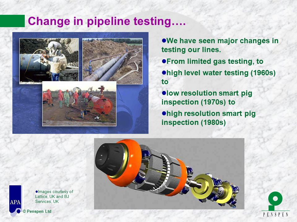 Change in pipeline testing….
