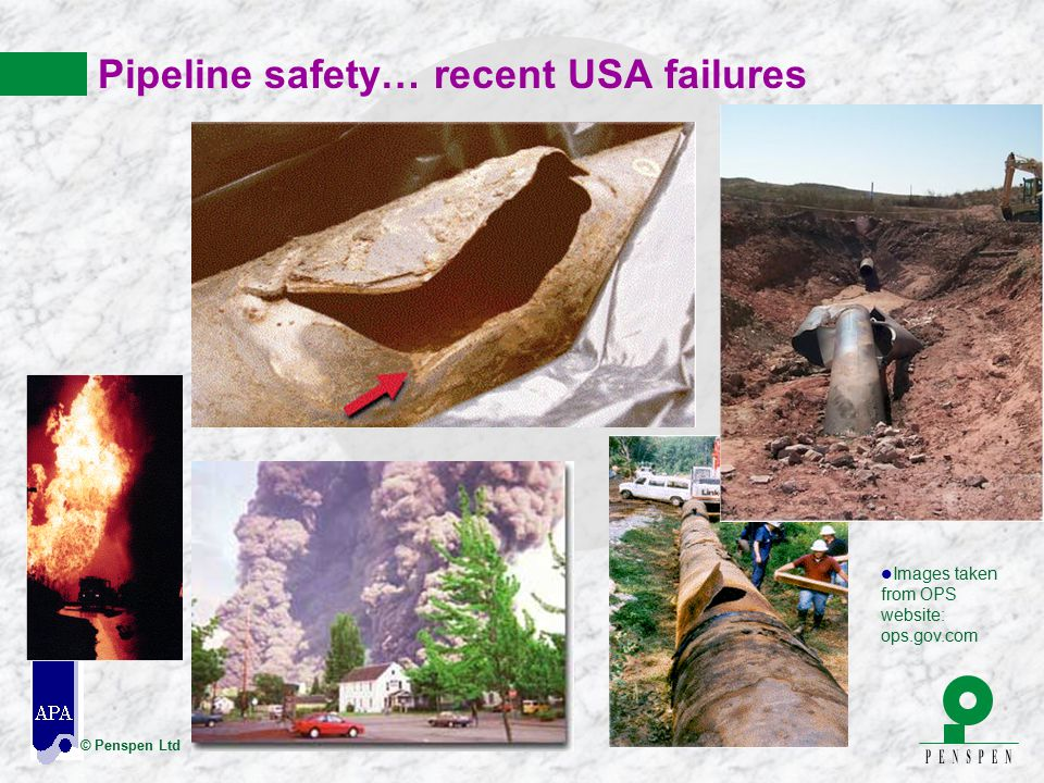 Pipeline safety… recent USA failures