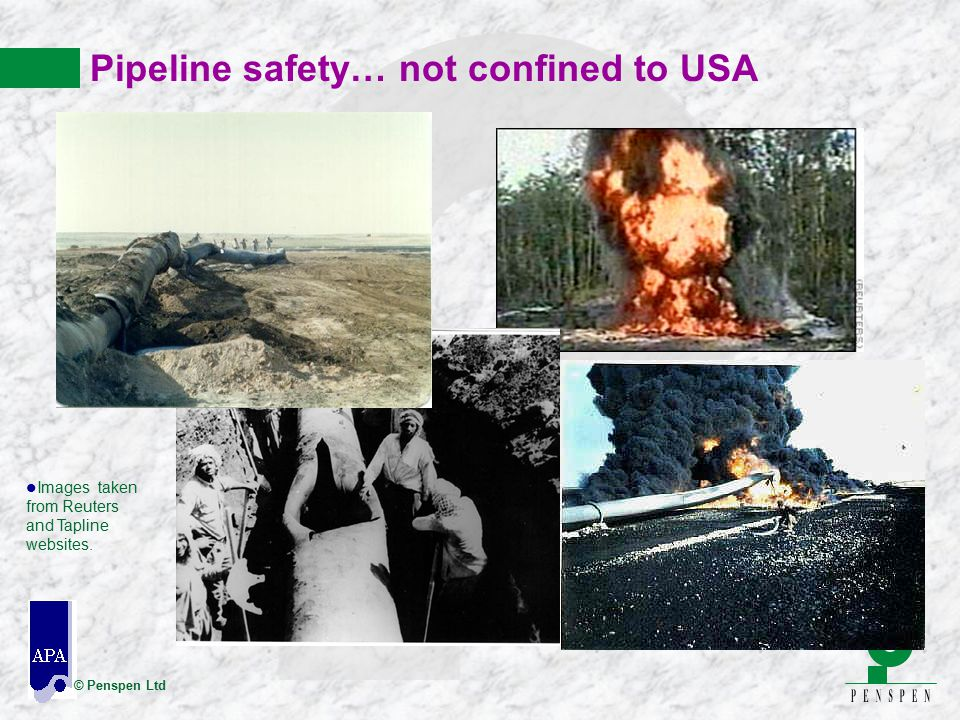 Pipeline safety… not confined to USA