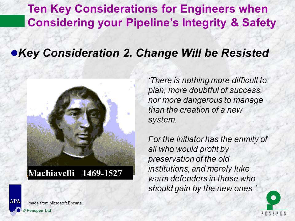 Key Consideration 2. Change Will be Resisted