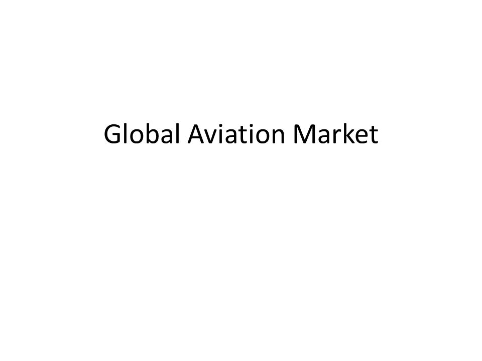 Global Aviation Market