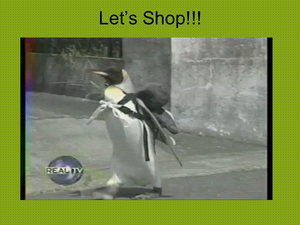 Let's Shop!!!