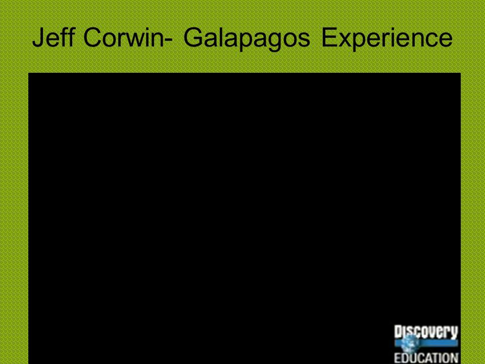 Jeff Corwin- Galapagos Experience