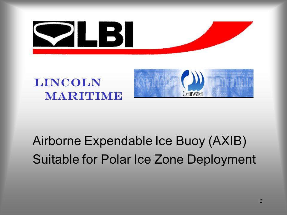 Airborne Expendable Ice Buoy (AXIB)