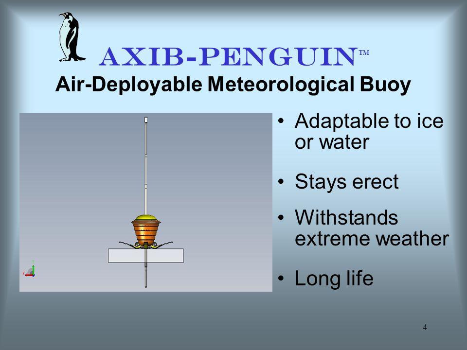 AXIB-PENGUINTM Air-Deployable Meteorological Buoy