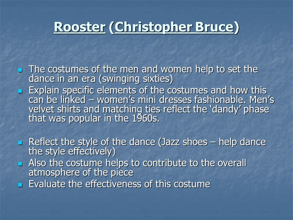Rooster (Christopher Bruce)