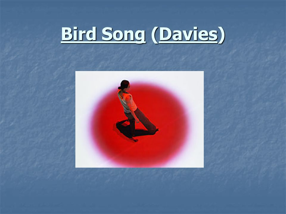 Bird Song (Davies)