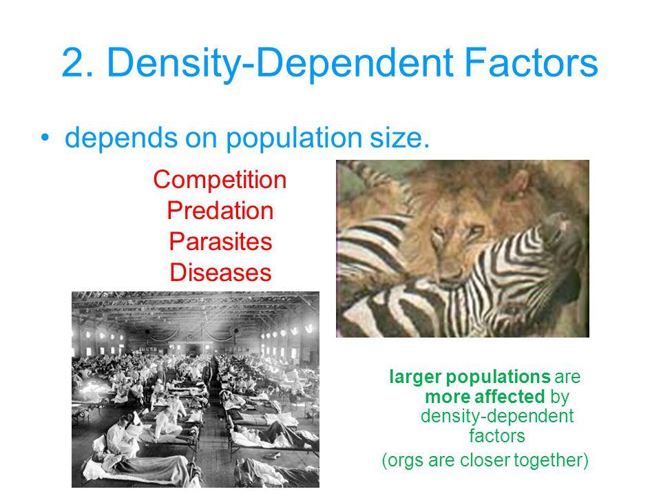 2. Density-Dependent Factors