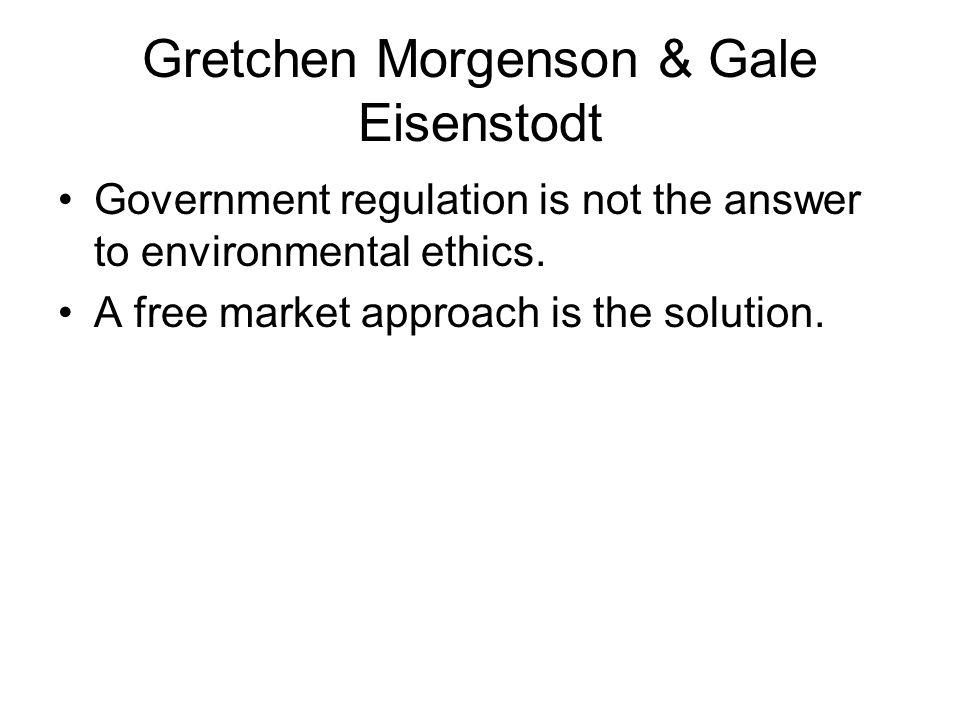 Gretchen Morgenson & Gale Eisenstodt