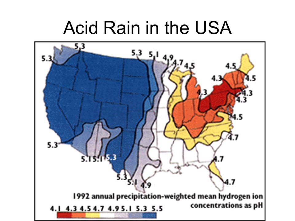 Acid Rain in the USA