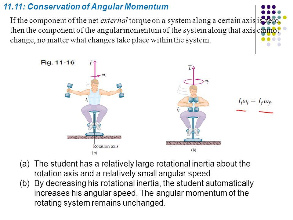 11.11: Conservation of Angular Momentum