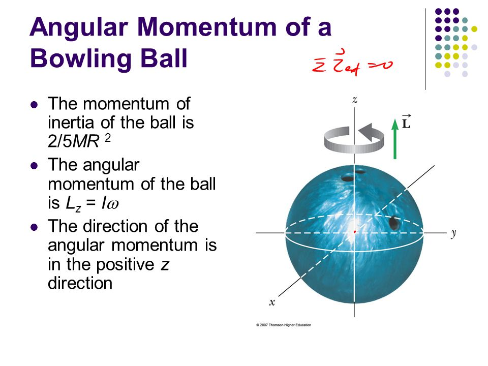 Angular Momentum of a Bowling Ball
