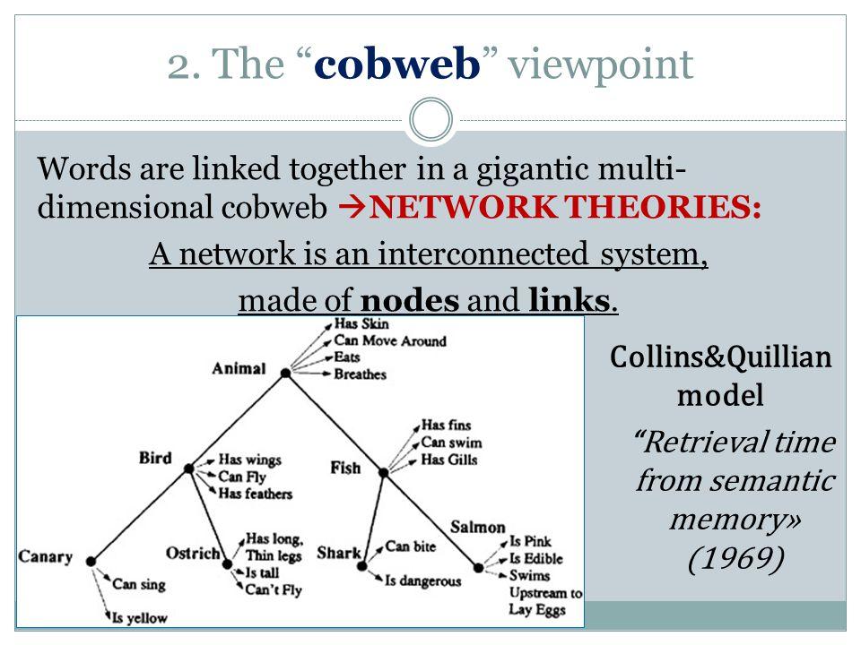 2. The cobweb viewpoint