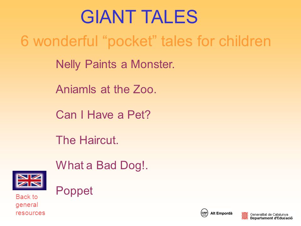 GIANT TALES 6 wonderful pocket tales for children