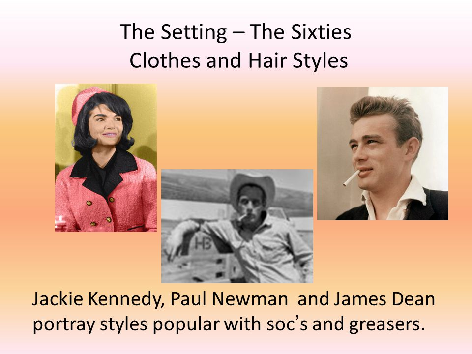 The Setting – The Sixties Clothes and Hair Styles