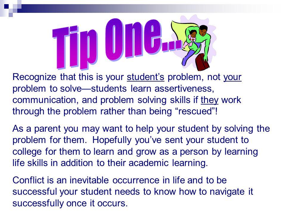 Tip One... Negotiating Through Conflict