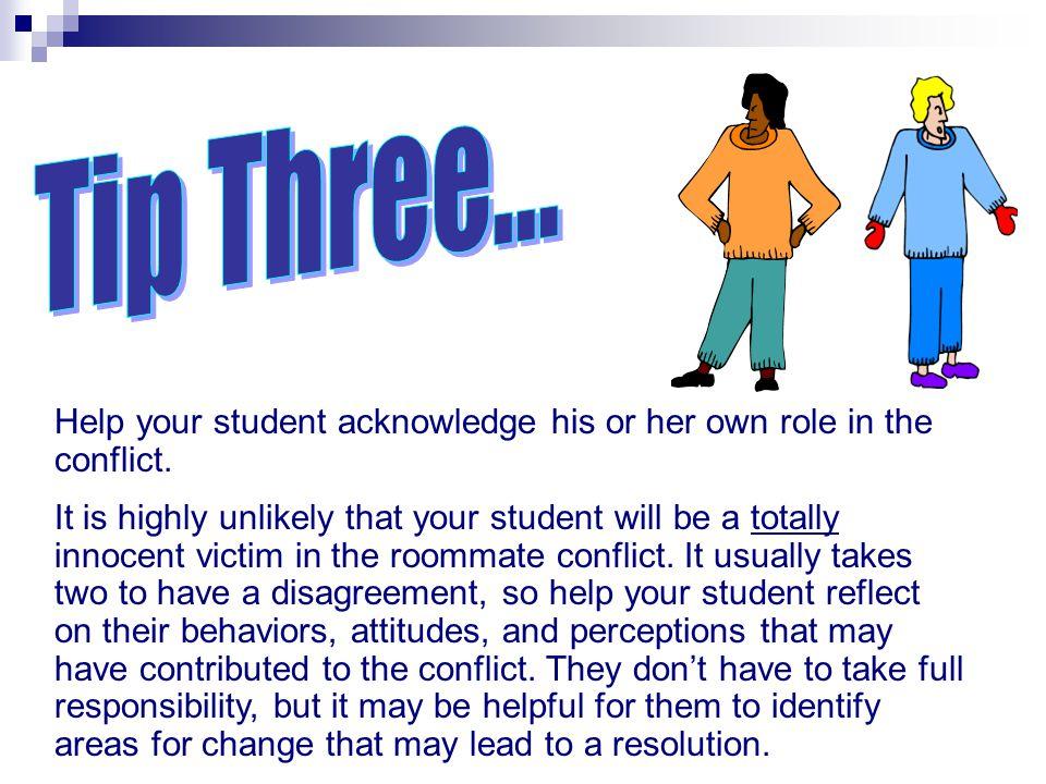 Tip Three... Negotiating Through Conflict