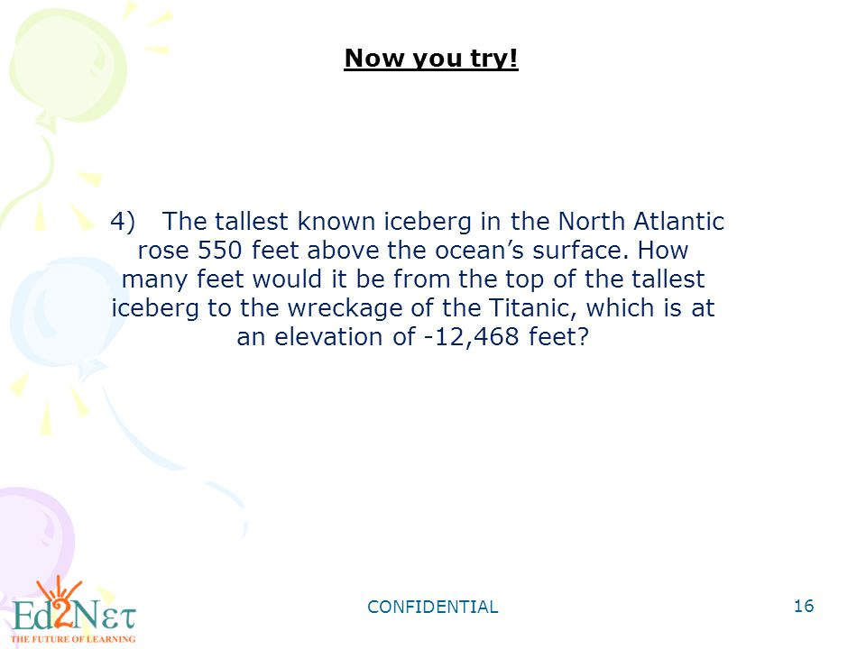 4) The tallest known iceberg in the North Atlantic