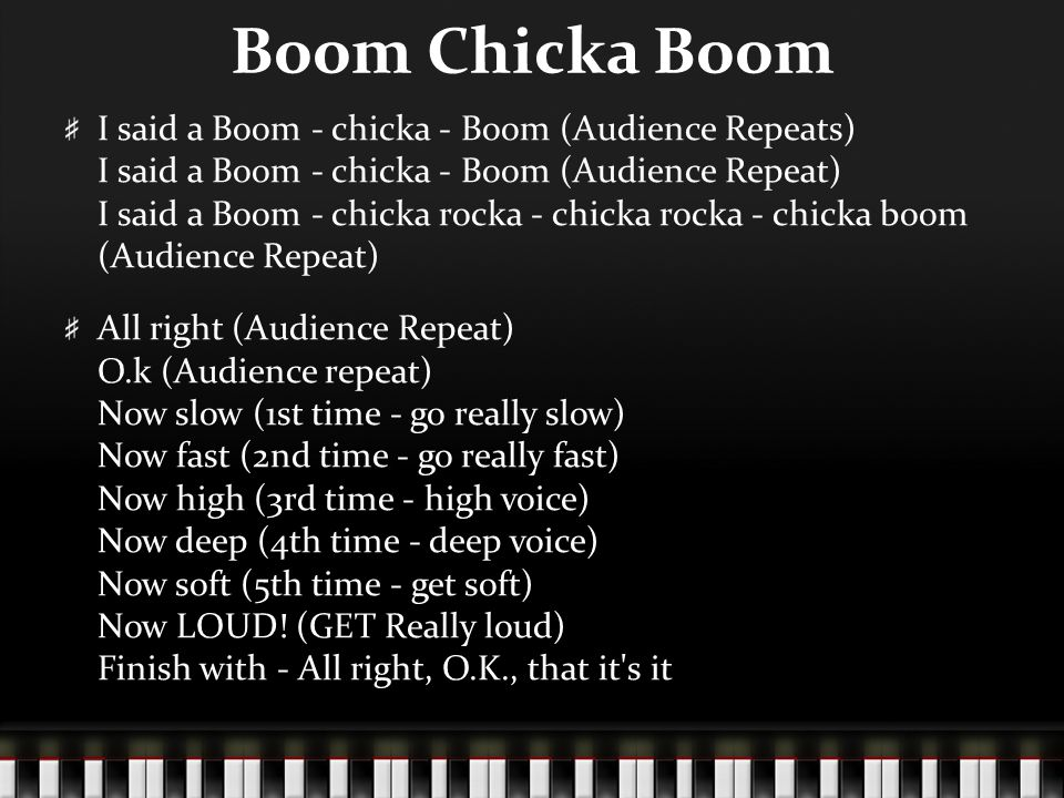 Lyric high low chicka low lyrics : STUCO Songs. - ppt video online download