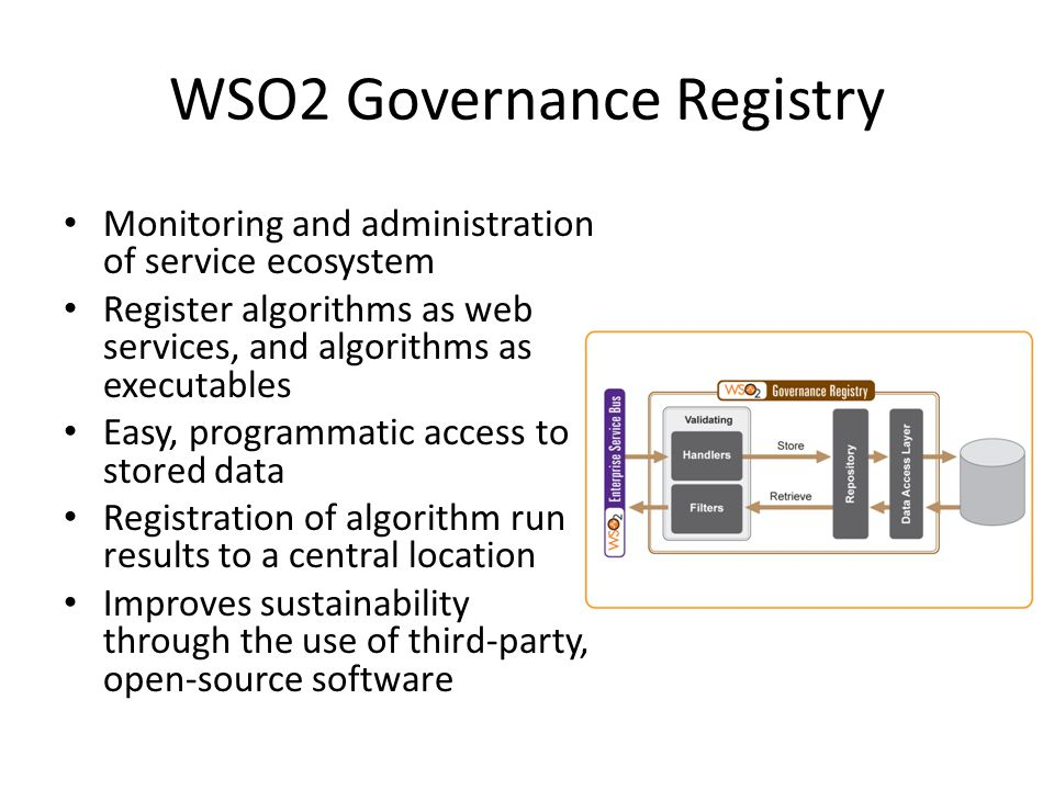 WSO2 Governance Registry